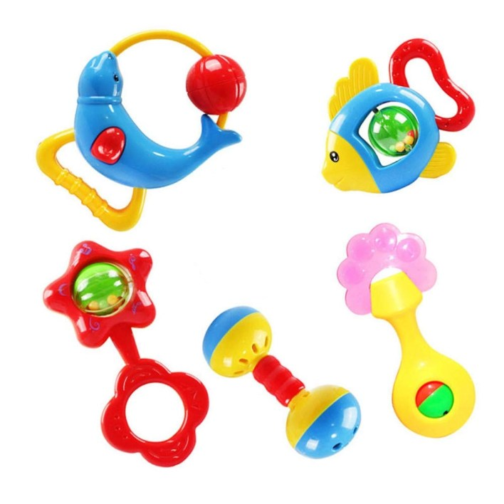Foreast kids handbells rattles