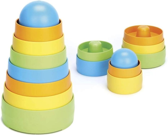 Green toys stacker