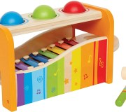 Hape Pound & Tap Bench with Slide-out Xylophone