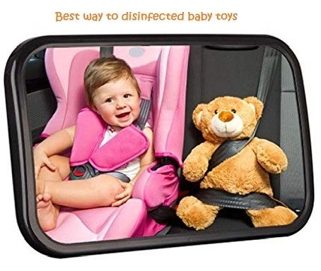 best way to disinfected baby toys