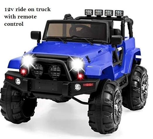 12v ride on truck with remote control