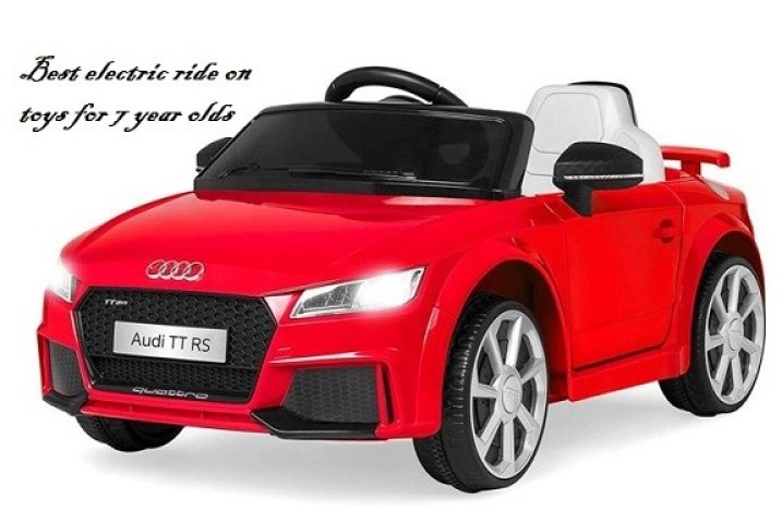 best electric ride on toys for 7 year olds