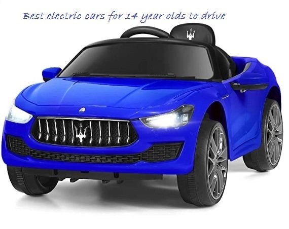 best electric cars for 14 year olds to drive
