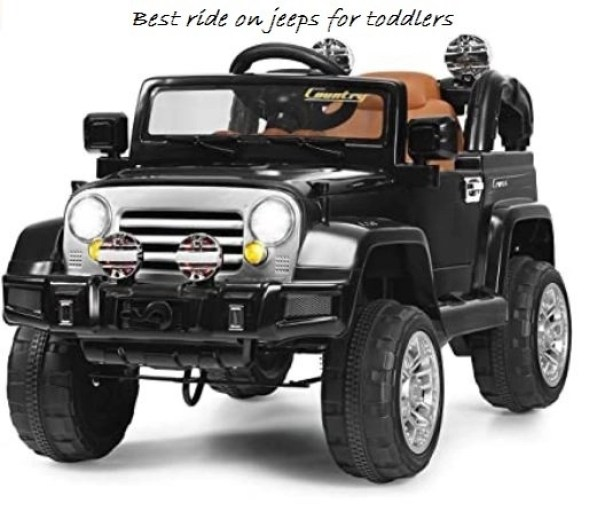 best ride on jeeps for toddlers