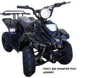 110cc gas powered four wheeler
