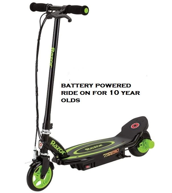 battery powered ride on for 10 year olds