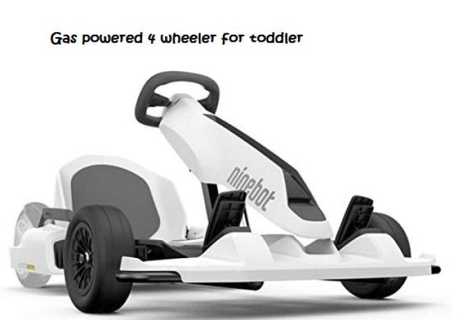 gas powered 4 wheeler for toddler