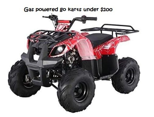 gas powered go karts under $200