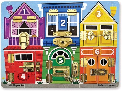 Melissa & Doug Latches Puzzle For 2 year old