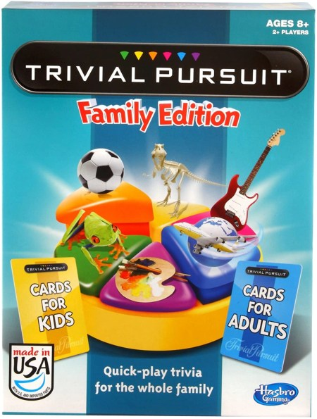 Trivia Pursuit Family Edition