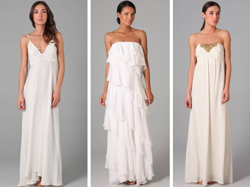 What Are Some Cool Informal Wedding Dress Ideas?