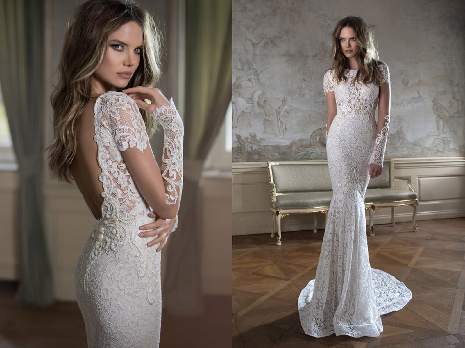 40 Gorgeous Lace Sleeve Wedding Dresses