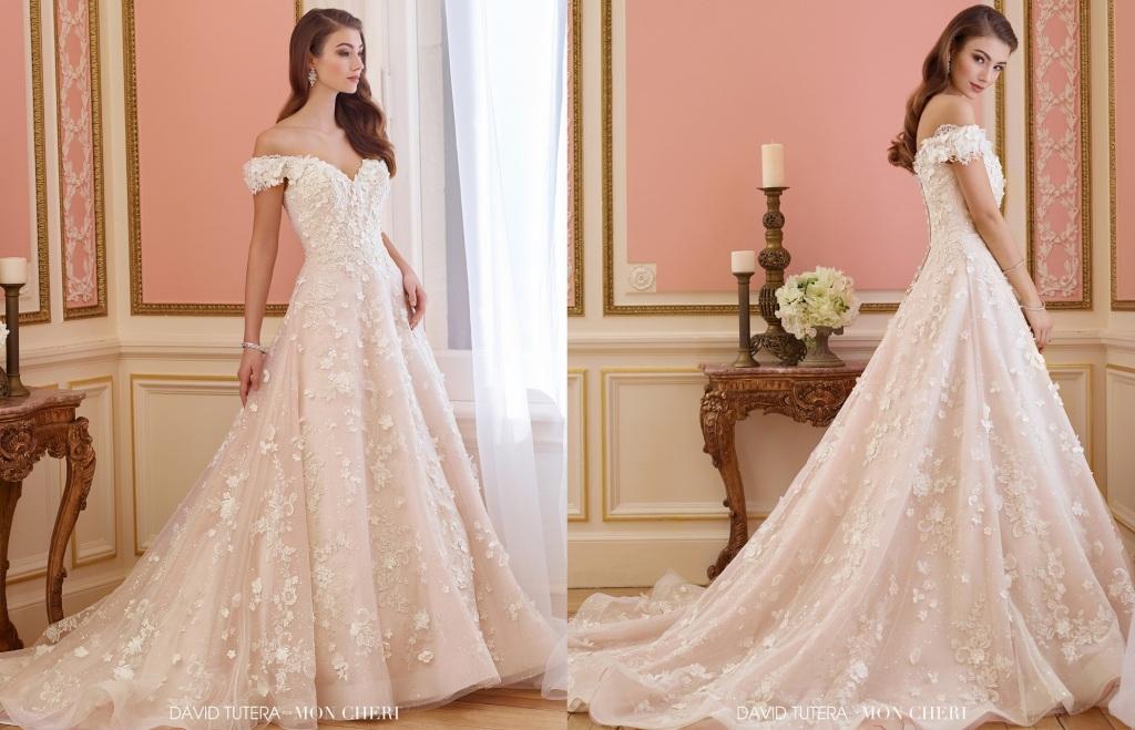 David Tutera Wedding Dresses: Review Of Elnora Bridal Gown
