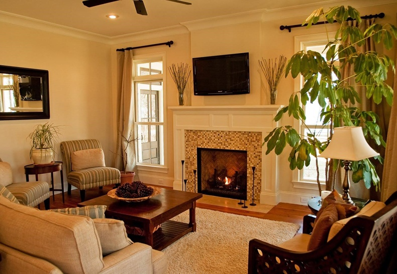 Small Living Room Ideas With Corner Fireplace | The Best ... on Small Space Small Living Room With Fireplace  id=29210