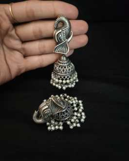 Elephant shaped Jhumka