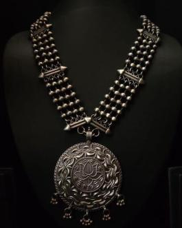 Rajwadi Round necklace