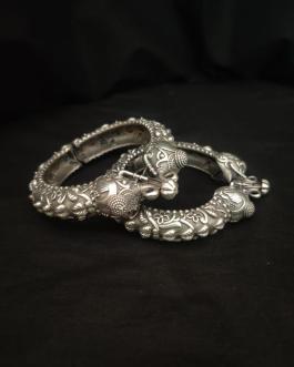 Elephant Silver Look Alike Kada