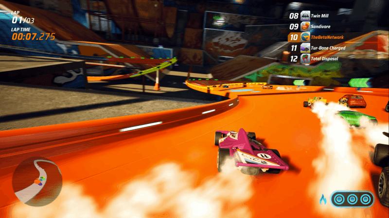 Hot Wheels Unleashed Drifting