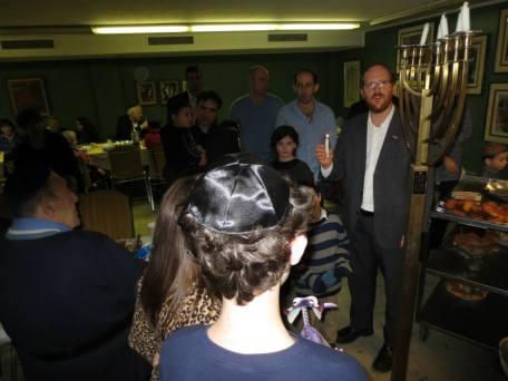 RabbiLightsMenorah