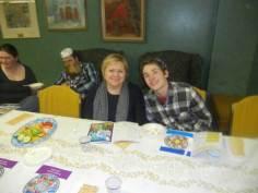 At the Model Seder