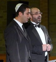 Josh David and Cantor Yaniv Sananes