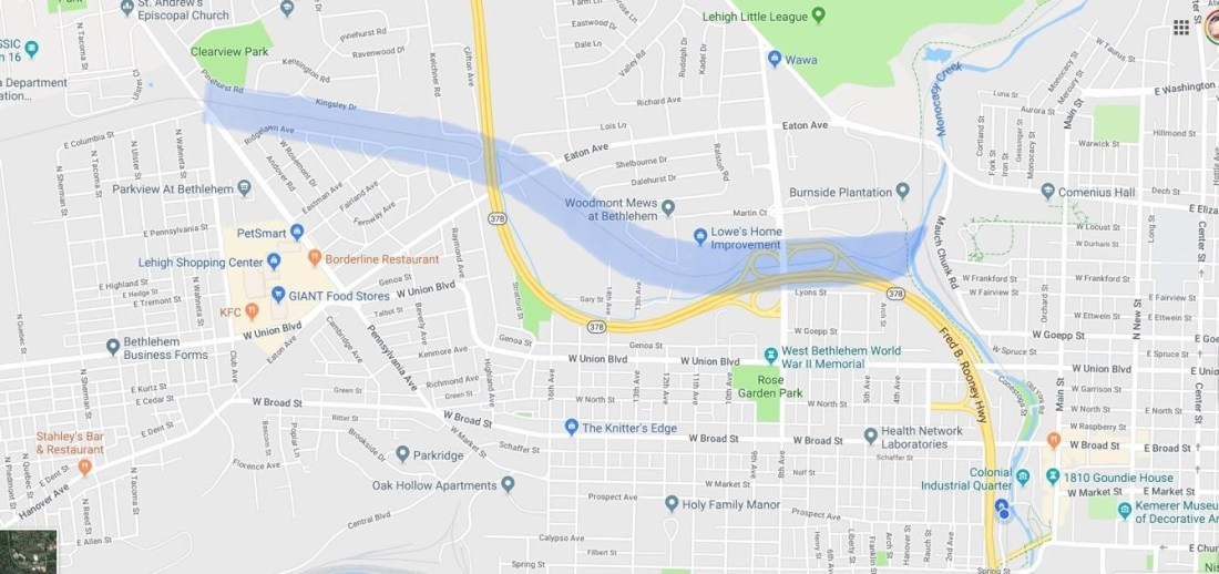 Marquette 1 map