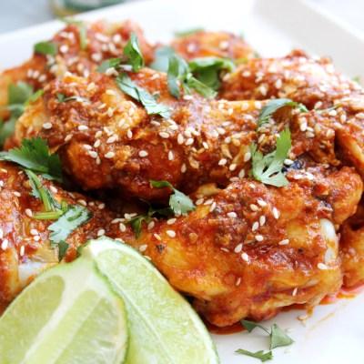 Chili Garlic Hot Wings – Keto/Paleo/Whole 30