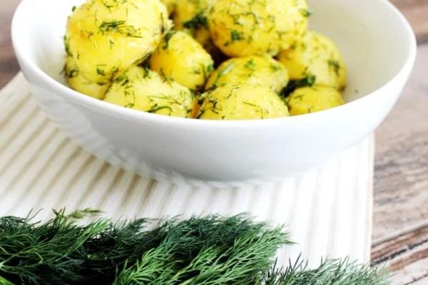 Polish Dill Potatoes