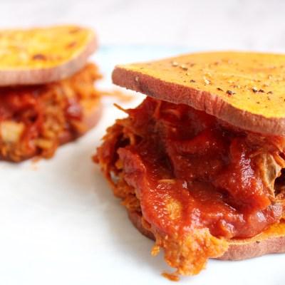 BBQ Pulled Pork Sliders – Paleo & Whole 30