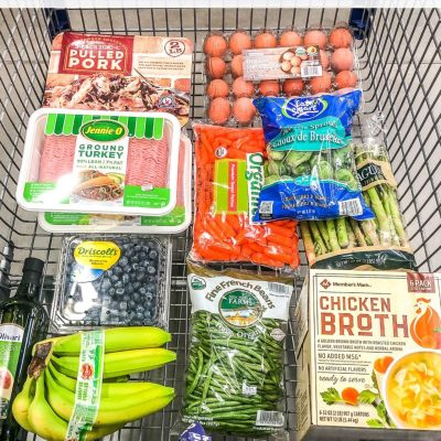 Whole 30 Sam's Club Round-Up