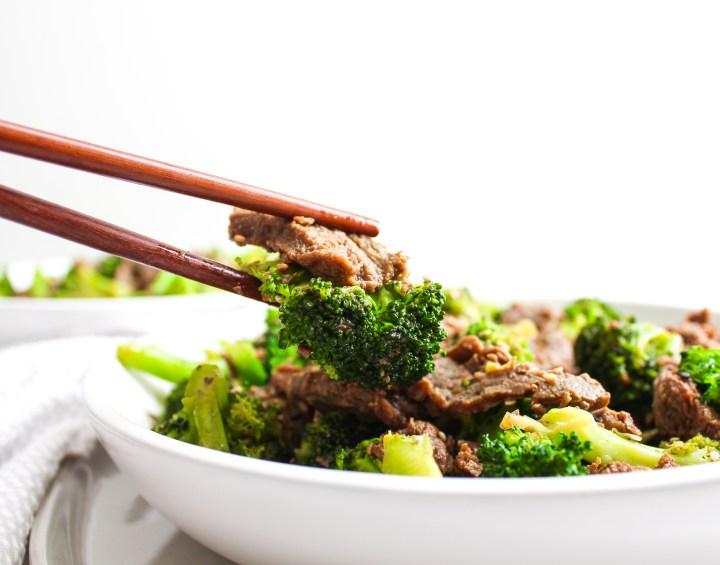 Whole30 Beef & Broccoli