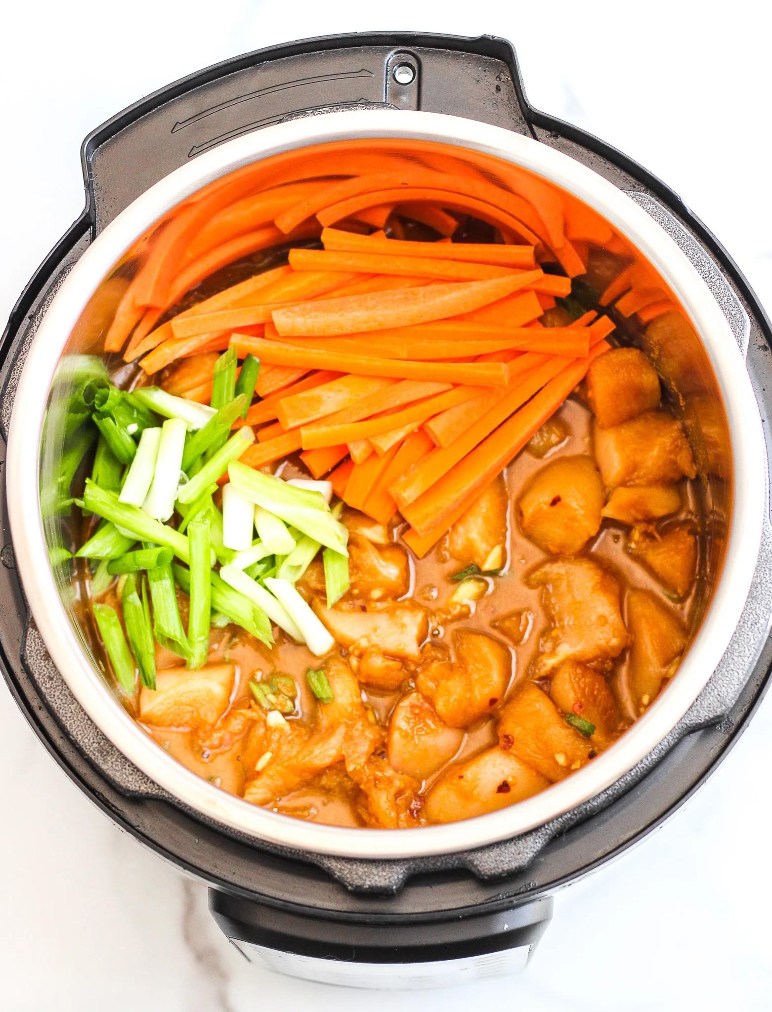 Instant Pot Pad Thai Gluten Free