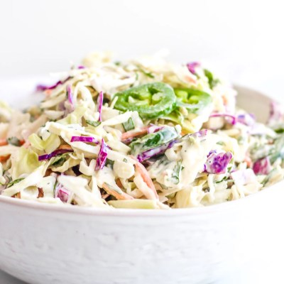 Whole30 + Keto Southwestern Coleslaw