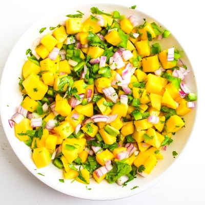 Easy Mango Salsa – Paleo + Whole30