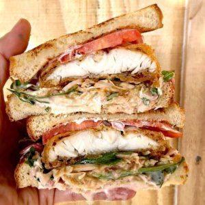 Slapfish Barra Sandwich