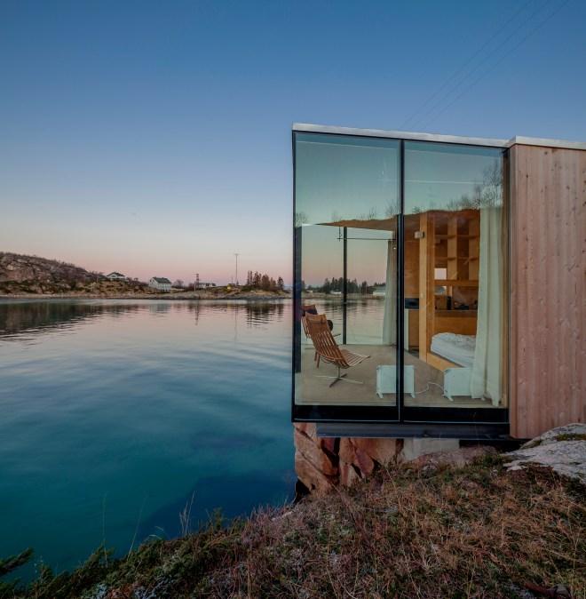 the better places design crush norway sea cabins northern lights jessie schoeller helena schoeller gloria von bronewski travelblog