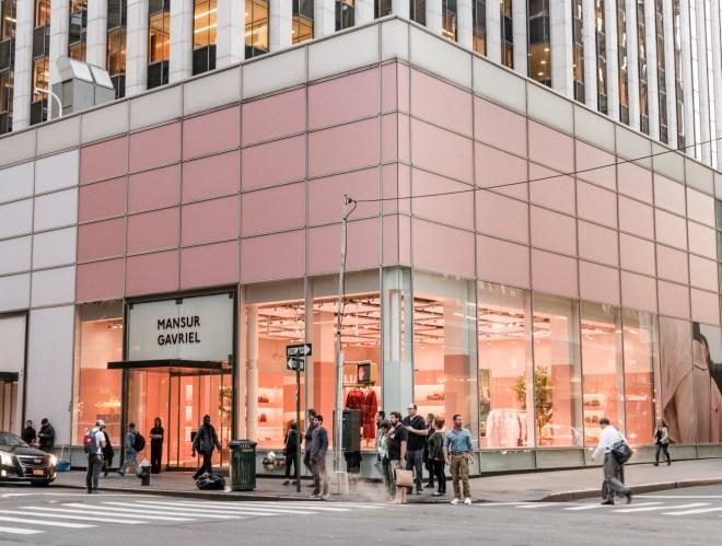 the better places mansur gavriel new store pop up Manhattan New York
