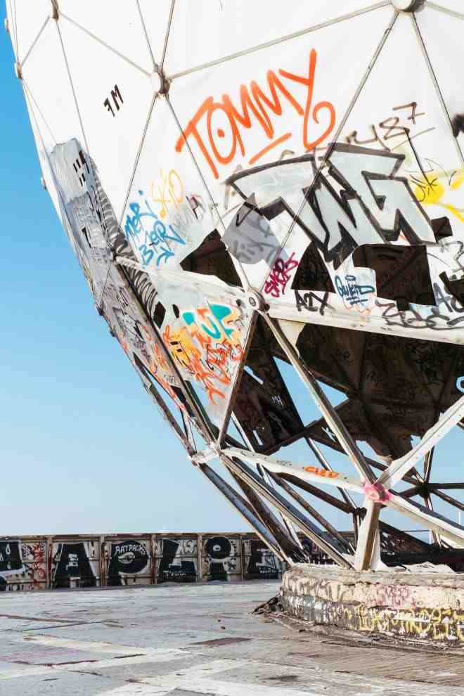 Teufelsberg Berlin Walk Street Art Architecture The Better Places Travel Blog Germany