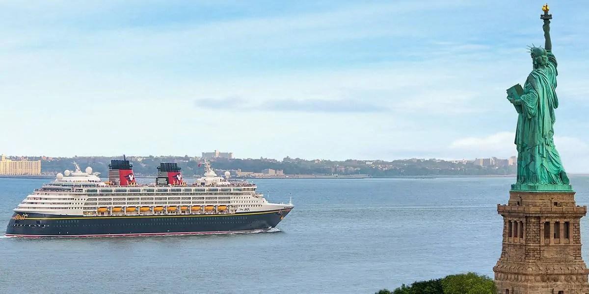 Cruises starting from New York