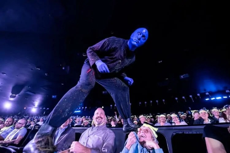 Blue Man Show NYC