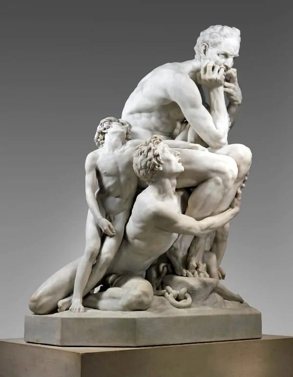 Ugolino and His Sons at The Met