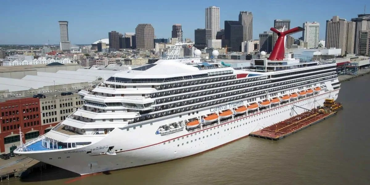 Carnival Triumph cruise from New Orleans