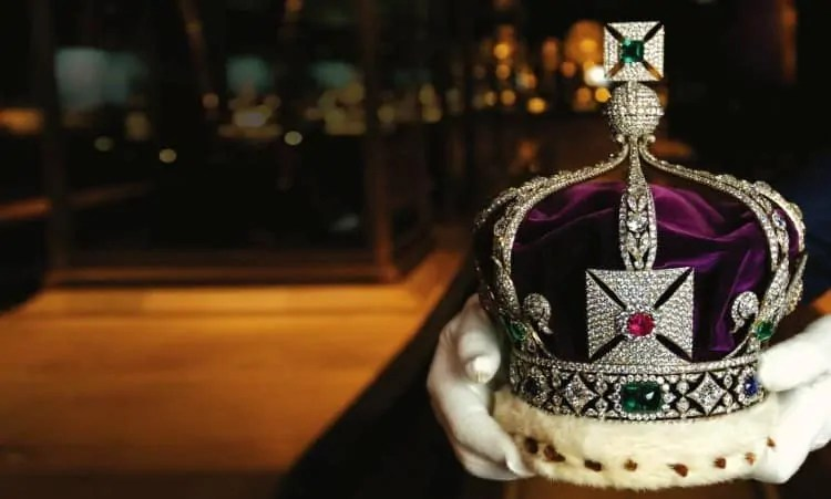Crown Jewels in Tower of London