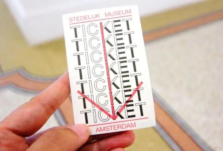 Stedelijk Museum tickets