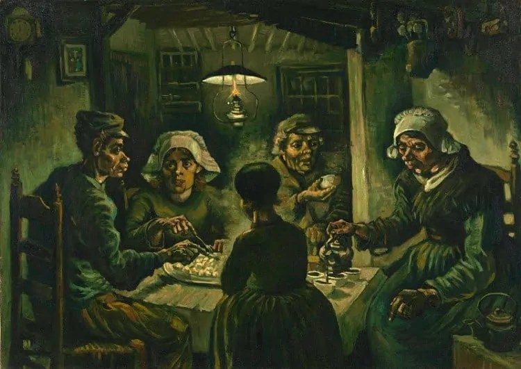 The Potato Eaters at Van Gogh Museum