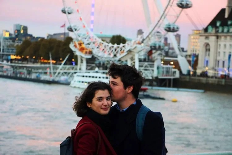 Visiting London Eye