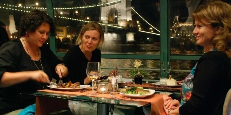 Dinner cruise on Danube