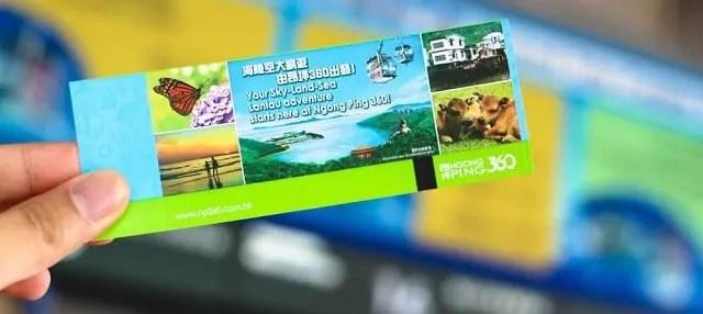 Ngong Ping 360 tickets