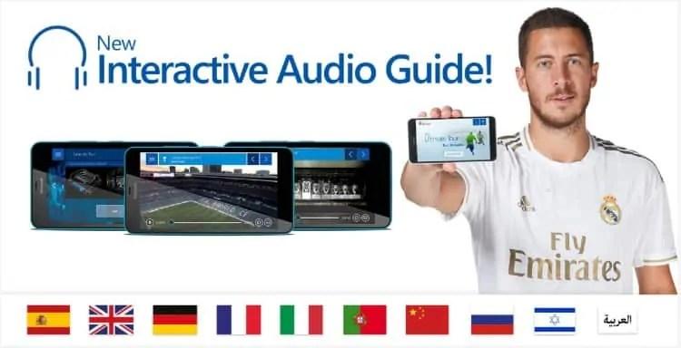 Bernabeu tour audio guide