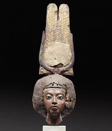 Head of Teje at Neues Museum